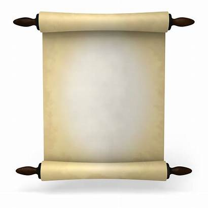 Ancient Letter Roll Paper Scroll Clipart Transparent