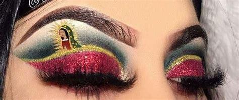 virgen de guadalupe eye makeup designs mexican makeup makeup