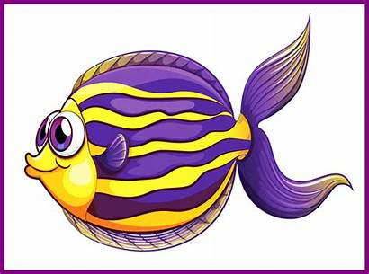 Fish Sea Clipart Cartoon Ocean Creatures Dory