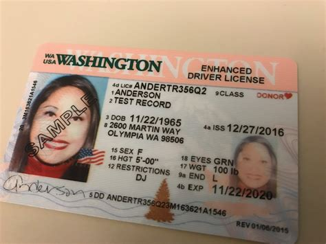 In One Year's Time, A Regular Washington Driver's License