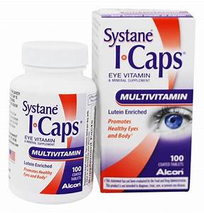 Buy Icaps By Alcon - Icaps Lutein Enriched Eye Multivitamin