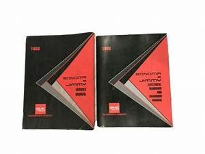 1993 Gmc Sonoma Jimmy Factory Service Shop Manual And