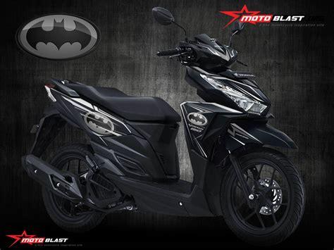 Vario 150 2015 Modif by Modif Striping Honda Vario 150 Black Tema Batman
