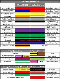 67573 Radio Harness Color Diagram On Wires