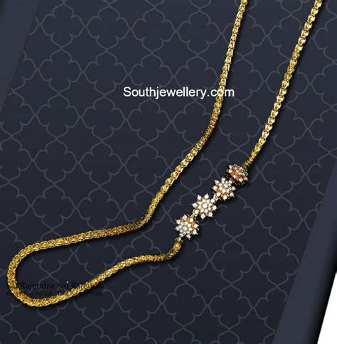 Thali Chain Designs latest jewelry designs - Jewellery Designs