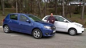 Defaut Dacia Sandero : dacia sandero vs tata vista prueba test review low cost youtube ~ Medecine-chirurgie-esthetiques.com Avis de Voitures