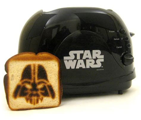 darth toaster yes it s the darth vader breakfast toaster the register