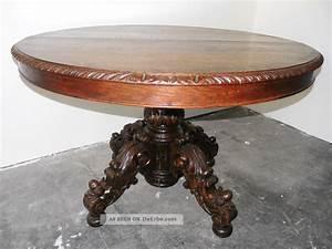Antike Tische Rund : antiker tisch gr nderzeit jagd eiche voll massiv ausziehbar ~ Frokenaadalensverden.com Haus und Dekorationen