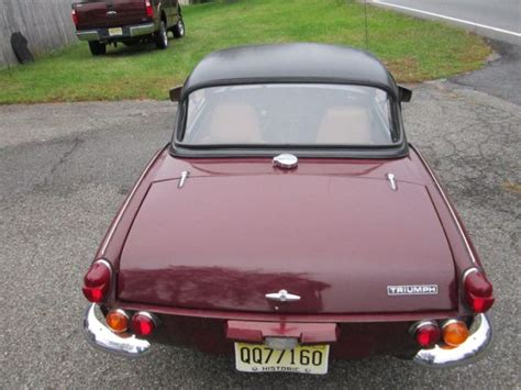 1970 Triumph Spitfire For Sale (early Type Body