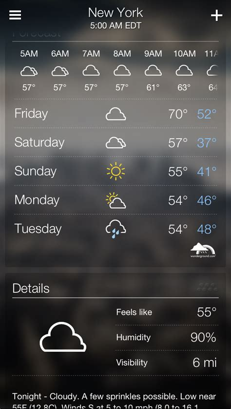 weather apps for iphone brand new yahoo weather app released for iphone apps