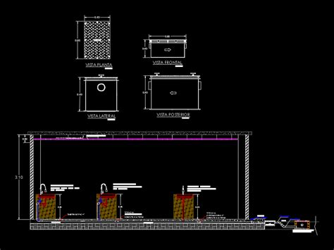 cuisine autocad cut health of a classroom of cuisine dwg detail for