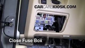 Interior Fuse Box Location  2009-2014 Nissan Maxima