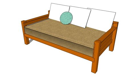 build  day bed howtospecialist   build step  step diy plans