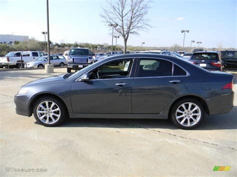 carbon gray pearl 2007 acura tsx sedan exterior photo