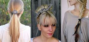 12 Simple Ponytail Hair Accessories For Teenage Girls