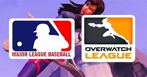 The MLB apparently thinks the 'Overwatch' League logo is ...