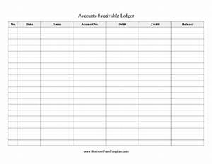 accounts receivable ledger template With accounts receivable forms templates