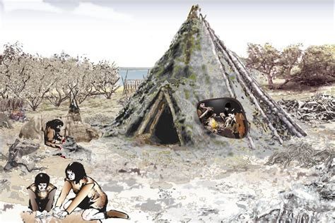 blueprints homes mesolithic house unearthed by the river forth november