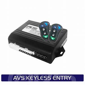Avs Keyless Entry System - Avs Car Security