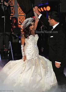 snooki shares new photos from her wedding day after tying With snooki wedding dress