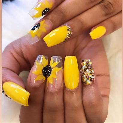 Nail Sunflower Amazing Simi
