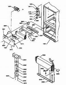 Evaporator And Freezer Control Assembly Diagram  U0026 Parts