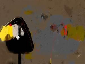 paysage abstrait dans des tons jaune gris noir pour votre With gris bleu peinture 2 tableau jaune creation abstraite format vertical deco