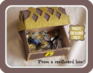 Piraten Schatztruhe Basteln : how to make a pirate treasure chest kindergeburtstag ~ Lizthompson.info Haus und Dekorationen