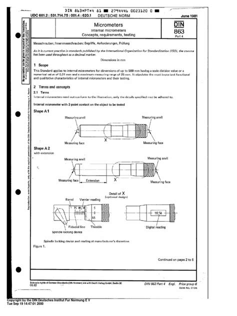 DIN 863 PART 4