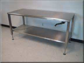 Casters For Kitchen Island Lift Tables At Rdm Adjustable Tables A107p