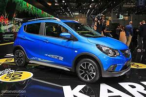 Opel Karl Rocks Was Unveiled In Paris  It U0026 39 S A Crossover