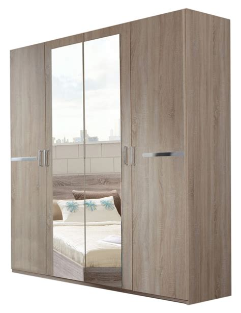armoires chambres armoire 4 portes chambre à coucher imitation chene