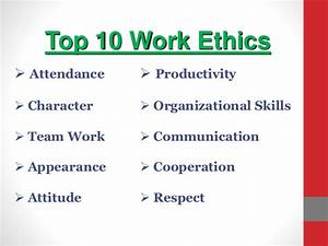 Workethic Team Ethic Quotes