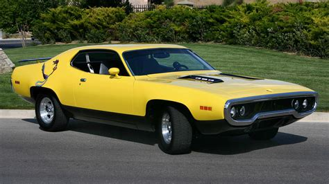 Cars Plymouth 1973 Roadrunner Automotive Muscle Car