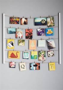 Wall decor kit : Twine after time photo hanger kit mod retro vintage