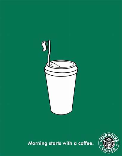 Starbucks Ads Famous Creative Ad Advertising Brands