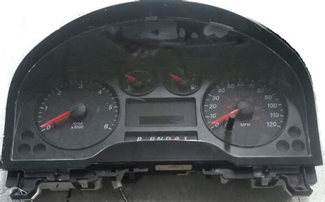 auto manual repair 1987 ford laser instrument cluster 2004 2007 ford freestar instrument cluster repair