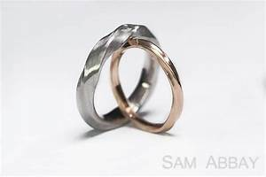 Twisted bands new york wedding ring for New york wedding ring