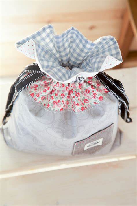 drawstring bag diy tutorial ideas