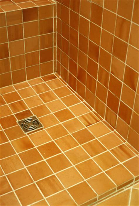 hydrofuge terre cuite contre leau dune douche  salle