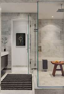 28, Grey, And, White, Bathroom, Tile, Ideas, And, Pictures, 2020