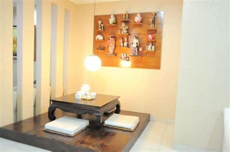 desain interior ruang tamu minimalis bergaya jepang