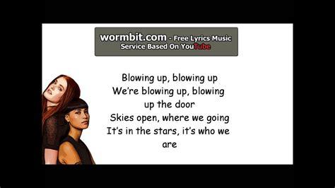 In The Stars (lyrics)