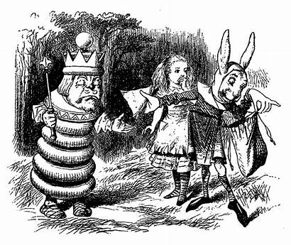 Looking Glass Through Alice Illustration Clip Illustrations