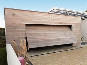 Porte De Garage Basculante Sur Mesure : portes de garage basculantes sur mesure bois pvc alu acier komilfo ~ Melissatoandfro.com Idées de Décoration