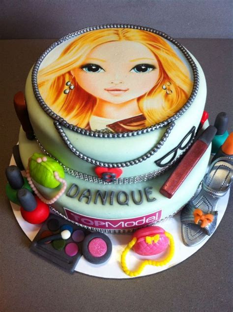 top model birthday cake torte  tutti kinder