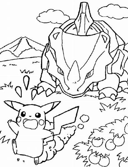 Coloring Pokemon Pages Popular