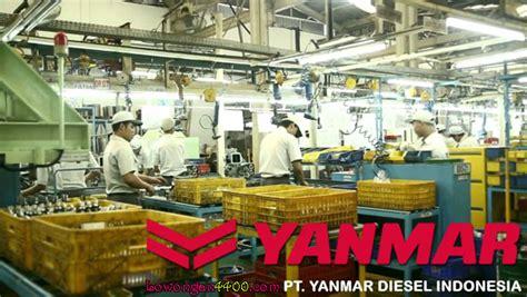 lowongan kerja pt yanmar diesel indonesia jalan raya bogor