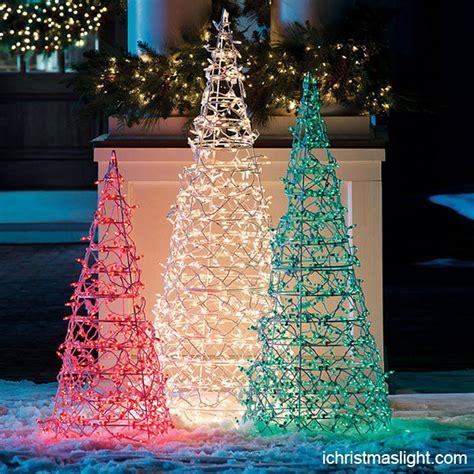 commercial christmas decor led light trees ichristmaslight