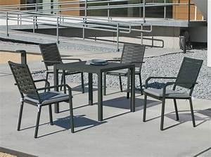 Muebles, De, Aluminio, Para, Terraza